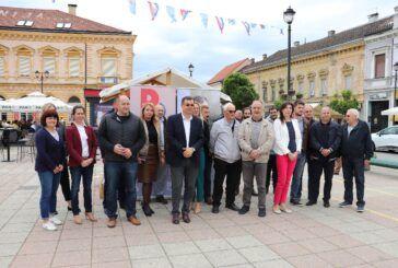 DAMIR BAJS U DARUVARU DOBIO VELIKU PODRŠKU koalicijskih partnera, građana, prijatelja i simpatizera