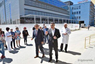 Predsjednik Milanović: Zahvaljujući županu Bajsu, sada stojimo ispred najveće građevine na kojoj se radovi polako privode kraju