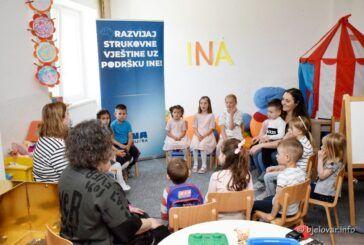 INA i Socijalna zadruga 'Pružimo ruke' nastavljaju suradnju - Predškolske radionice za djecu u Zrinskom Topolovcu idu dalje
