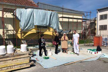 U PUNOM JEKU RADOVI na obnovi škole u Đulovcu i školsko-sportske dvorane