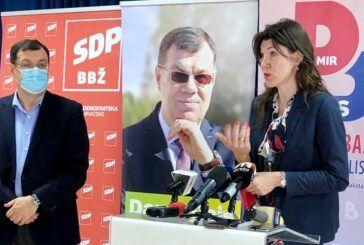 SDP BBŽ: Nema koalicije s Domovinskim pokretom, SDP dao podršku Damiru Bajsu za drugi krug izbora