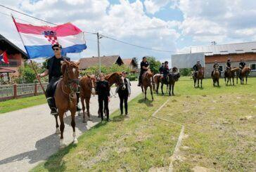 Bjelovarski graničari Husari održali maraton povodom obilježavanja Dana državnosti