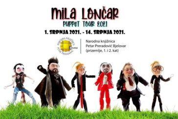USKORO izložba mlade autorice Mile Lončar u bjelovarskoj knjižnici –  Mila Lončar radi lutke poznatih osoba