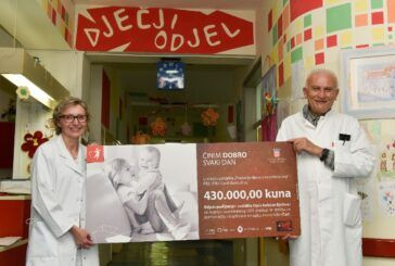 PBZ Grupa donirala 430.000 kuna Odjelu za pedijatriju i rodilište Opće bolnice Bjelovar