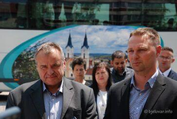 Župan Marušić se sastao s gradonačelnikom Pirakom i direktorom tvrtke Čazmatrans Nova