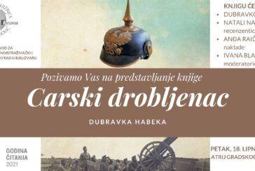 Nakon romana 'Bijela kuga', poznati liječnik Dubravko Habek predstavit će novu knjigu 'Carski drobljenac'