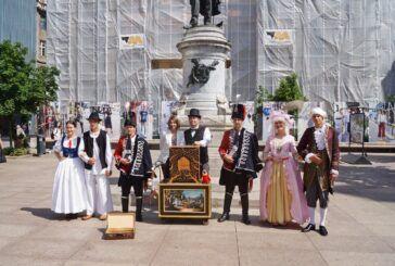 Promocija bjelovarsko-bilogorskog kraja u Zagrebu – Otvorena izložba na Cvjetnom trgu