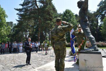 BJELOVAR - Svečano obilježena 80. obljetnica antifašističkog ustanka u Hrvatskoj i Dan antifašističke borbe