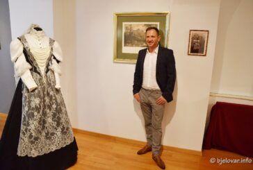 [FOTO GALERIJA] Izložba u Gradskom muzeju Bjelovar: Izrada jedne od replika haljina carice Sisi trajala PET GODINA