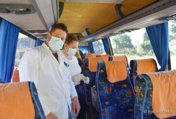 Potvrđena jedna novozaražena osoba u našoj županiji – U tri tjedna cijepile se 884 osobe u COVID busu