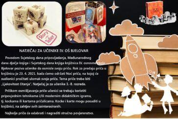 IV. osnovna škola Bjelovar organizirala školski literarni natječaj 'Ljekovitost čitanja'