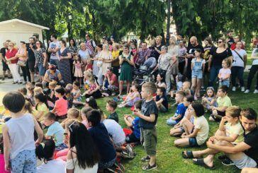 U sklopu Terezijane uživala je i najmlađa bjelovarska publika