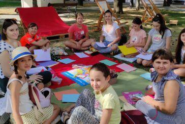 Bjelovarsko kulturno ljeto nudi program za sve naraštaje - U tijeku radionice francuskog jezika za djecu