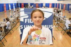 Bjelovar ima prvakinju Hrvatske u šahu – Klara Končar ponovno zlatna