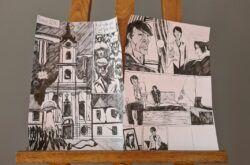 [FOTO] Uspješno je završila radionica crtanja stripa pod vodstvom Irene Jukić Pranjić