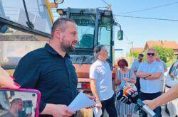 BJELOVAR – U tijeku su opsežni radovi na uređenju ulica – Pri kraju radovi u Ulici kneza Višeslava