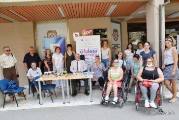 UTIB Bjelovar: Uspješno se provodi projekt 'Osobni asistenti - bolji život osoba s invaliditetom'