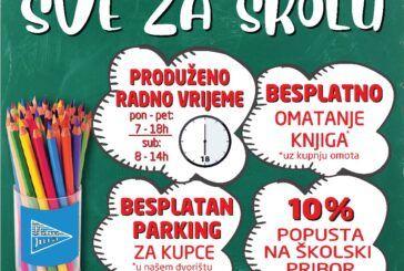 Sve za školu u Hard Juri – produženje radnog vremena od PON-PET ( 07 -18:00h) i SUBOTA ( 08-14:00h)