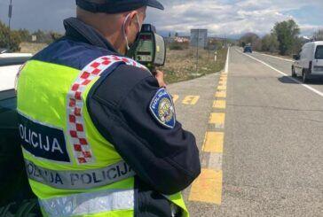 Uzrok svake treće prometne nesreće je brzina - Policija najavljuje županijske akcije na prekršaje nedozvoljene brzine kretanja vozila