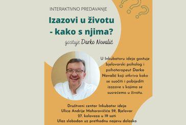 Izazovi u životu – kako s njima? Ne propustite interaktivno predavanje prof. Novalića u Inkubatoru ideja!