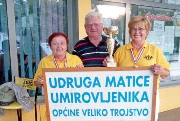 ZLATNI PEHAR osvojile članice Udruge matice umirovljenika Veliko Trojstvo