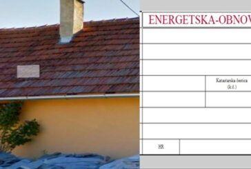 Energetska obnova obiteljskih kuća – Obavijest građanima!