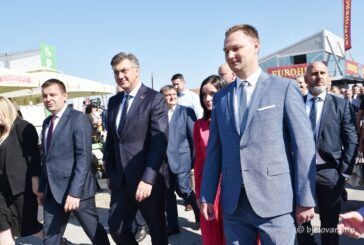 Premijer Andrej Plenković otvorio 28. Jesenski međunarodni bjelovarski sajam u Gudovcu