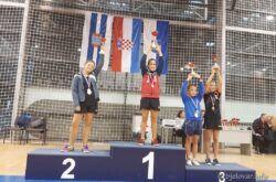 Bjelovarske stolnotenisačice uspješne na PH – mlađe kadetkinje i juniorke pete, Klara Končar srebrna i brončana