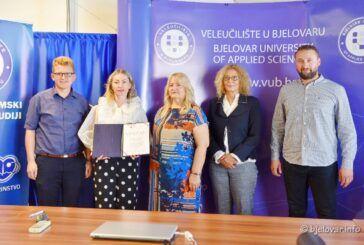 Veleučilištu Bjelovar uručen certifikat Agencije za znanost i visoko obrazovanje