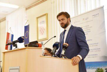 Ministar Ćorić na predstavljanju projekta Aglomeracije Bjelovar: Završetak se očekuje kroz dvije godine