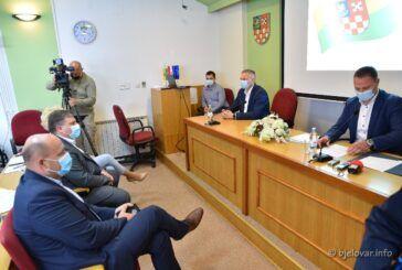 Župan Marušić s gradonačelnicima i načelnicima: Korištenje sredstava iz EU fondova, širokopojasni internet, problematika zdravstvenog sustava i druge teme