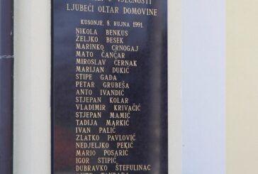 PROGRAM OBILJEŽAVANJA 30. godišnjice tragične pogibije hrvatskih branitelja u Kusonjama