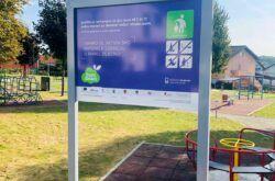 Obnovljeno dječje igralište u Ulici Jakova Gotovca u Bjelovaru u sklopu projekta 'Živjeti zdravo'
