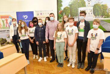 U Bjelovaru otvoren Dječji tjedan 2021. – Sa sjednice Dječjeg gradskog vijeća upućene poruke odraslima