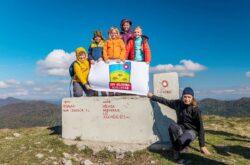 [FOTO] HPD Bilogora može se pohvaliti s mladim naraštajem u osvajanju planinskih vrhova – Osvojen vrh Tuhobić