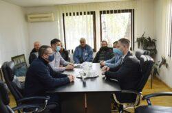 Župan Marušić u Daruvaru o Vodoprivredi Daruvar, Daruvarskim toplicama i obnovi OŠ Vladimira Nazora