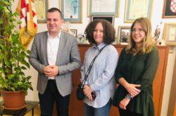 Marta Markešić osvojila 1. mjesto na natjecanju u znanju engleskog jezika – Gradonačelnik upriličio prijem